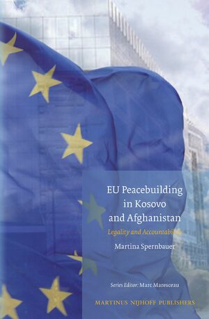 Cover EU Peacebuilding in Kosovo and Afghanistan