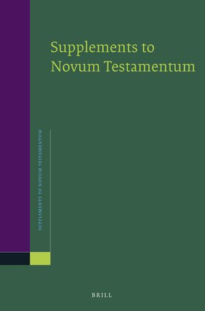 Cover Studies in New Testament and Early Christian Literature