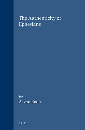 Cover The Authenticity of Ephesians
