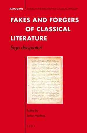 Cover Fakes and Forgers of Classical Literature