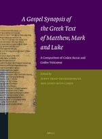 Cover A Gospel Synopsis of the Greek Text of Matthew, Mark and Luke