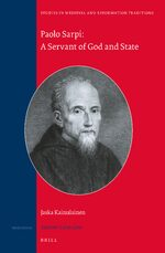 Cover Paolo Sarpi: A Servant of God and State