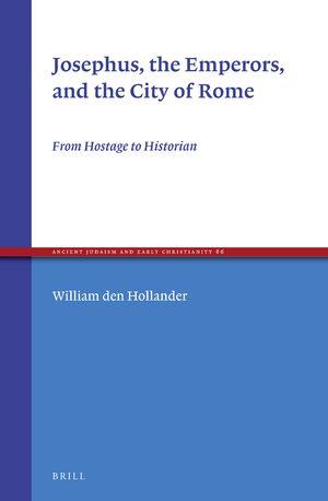 Cover Josephus, the Emperors, and the City of Rome