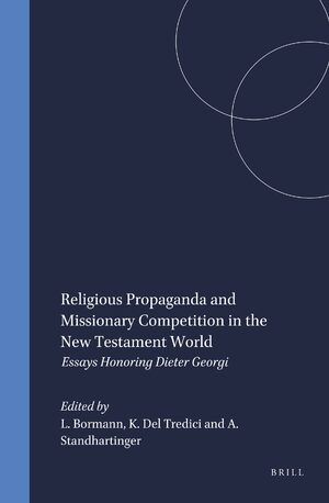 Cover Religious Propaganda and Missionary Competition in the New Testament World
