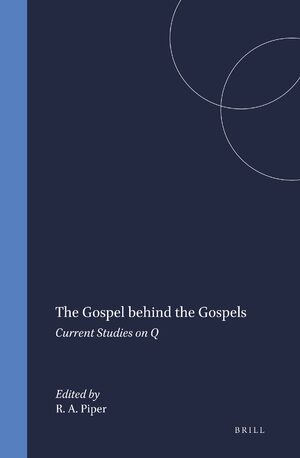 Cover The Gospel behind the Gospels