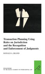 Cover Transaction Planning Using Rules on Jurisdiction and the Recognition and Enforcement of Judgments