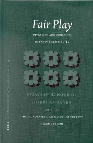 Cover Fair Play: Diversity and Conflicts in Early Christianity: