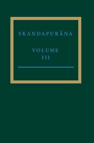 Cover The Skandapurāṇa III
