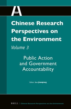 Cover Chinese Research Perspectives on the Environment, Volume 3