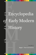 Cover Encyclopedia of Early Modern History, volume 2