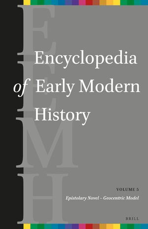 Cover Encyclopedia of Early Modern History, volume 5