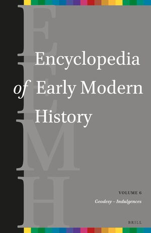 Cover Encyclopedia of Early Modern History, volume 6