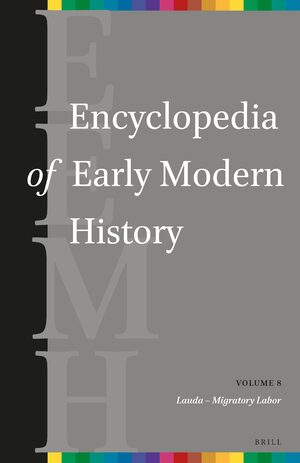Cover Encyclopedia of Early Modern History, volume 8