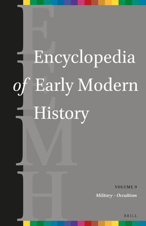 Cover Encyclopedia of Early Modern History, volume 9