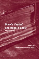 Cover Marx's <i>Capital</i> and Hegel's <i>Logic</i>
