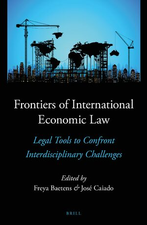 Cover Frontiers of International Economic Law