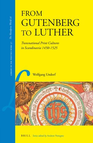 Cover From Gutenberg to Luther