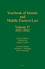 Yearbook of Islamic and Middle Eastern Law, Volume 17 (2011-2012)