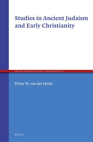 Cover Studies in Ancient Judaism and Early Christianity