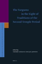 Cover The Targums in the Light of Traditions of the Second Temple Period