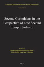 Cover Second Corinthians in the Perspective of Late Second Temple Judaism