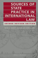 Cover Sources of State Practice in International Law
