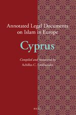 Cover Annotated Legal Documents on Islam in Europe: Cyprus