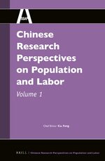 Cover Chinese Research Perspectives on Population and Labor, Volume 1