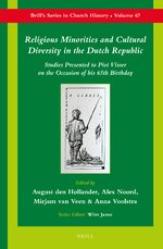 Cover Religious Minorities and Cultural Diversity in the Dutch Republic