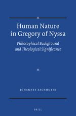 Cover Human Nature in Gregory of Nyssa