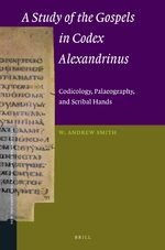 Cover A Study of the Gospels in Codex Alexandrinus