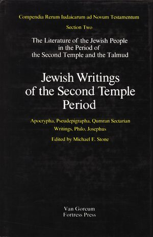 Cover The Literature of the Jewish People in the Period of the Second Temple and the Talmud, Volume 2 Jewish Writings of the Second Temple Period