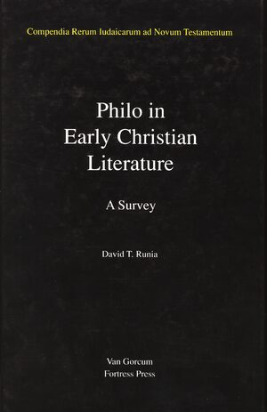 Cover Jewish Traditions in Early Christian Literature, Volume 3 Philo in Early Christian Literature