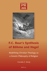 Cover F. C. Baur's Synthesis of Böhme and Hegel