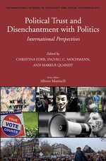 Political Trust and Disenchantment with Politics