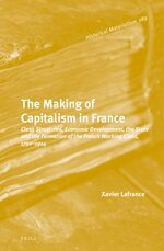 Cover The Making of Capitalism in France