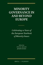 Cover Minority Governance in and beyond Europe