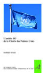 Cover L'article 103 de la Charte des Nations Unies