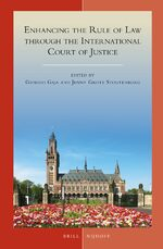 Cover Enhancing the Rule of Law through the International Court of Justice