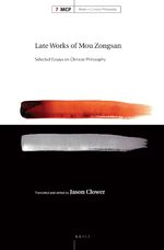 Cover Late Works of Mou Zongsan