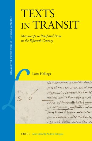 Cover Texts in Transit