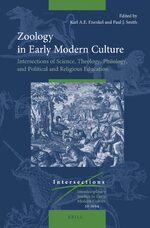 Cover Zoology in Early Modern Culture: Intersections of Science, Theology, Philology, and Political and Religious Education