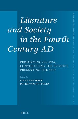 Cover Literature and Society in the Fourth Century AD