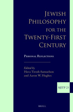 Cover Jewish Philosophy for the Twenty-First Century