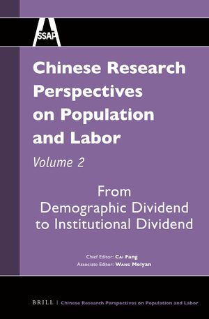 Cover Chinese Research Perspectives on Population and Labor, Volume 2