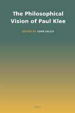 Cover The Philosophical Vision of Paul Klee