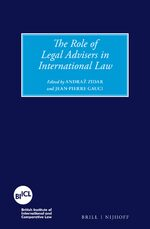 Cover The Role of Legal Advisers in International Law