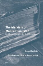 Cover The Marxism of Manuel Sacristán