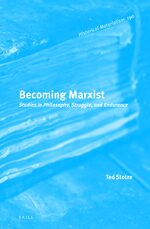 Cover Becoming Marxist