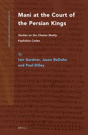 Cover Mani at the Court of the Persian Kings